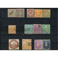 Япония  Фискальные 1873-1907 Номинал Набор
