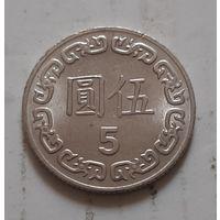 5 долларов 1983 г. Тайвань
