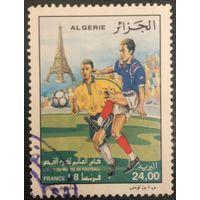 Алжир. 1998 год. Чемпионат мира по футболу во Франции. Гашеная.