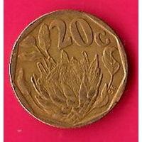 46-01 ЮАР, 20 центов 1993 г.