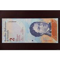 Венесуэла 2 боливара 2012 UNC