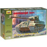 ЗВЕЗДА 3616 - Немецкий тяжелый танк КОРОЛЕВСКИЙ ТИГР с башней ПОРШЕ / Сборная модель 1:35