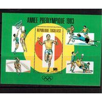 Того-1983,(Мих.Бл.201) **  , Спорт,ОИ-1984