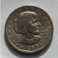 США,  Сюзан Энтони, 1 Доллар 1979 (105)