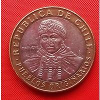05-15 Чили, 100 песо 2012 г.