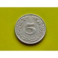 Тунис. 5 миллимов 1997 (1418). (2).