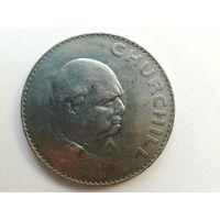 1 крона 1965 год. У. Черчиль Монета А2-6-3