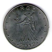 Сомалиленд 10 шиллингов 2012 года. Дева.