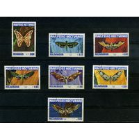 Никарагуа 1983г. бабочки. 7м.