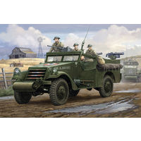 "82451 HobbyBoss 1/35 U.S. M3A1 ""White Scout Car"" Early Production"
