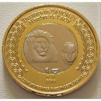 """Дагомея """"Бенин"""" 1 франк 2014 год UC#214 """"100 лет Начала 1-й Мировой войны"""""""