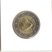 2 евро 2009 Словакия, 20 лет с начала Бархатной Революции
