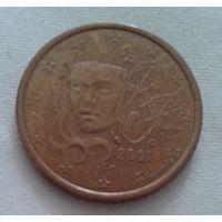 5 евроцентов, Франция, 2001