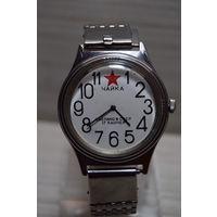 Чайка. 17 камней. Часы на ходу. Ретро времен СССР.