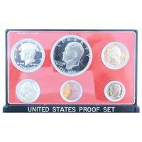 США, Годовой набор монет 1976 год, - (оригинальном футляре в качестве PROOF) -