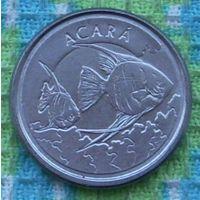 Бразилия 1000 крузейро 1993 года. UNC. Инвестируй в монеты планеты!