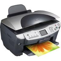 Принтер Epson Stylus Photo RX620 + 4 новых картриджа, все рабочее (треснувшая петелька на крыше(возможно заклеить)на работе принтера не отражается)