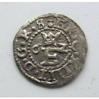 Шиллинг Ревеля 1562 Эрик XIV король Швеции.в блеске