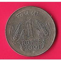 42-06 Индия, 1 рупия 2001 г.
