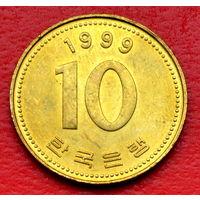 32-13 Южная Корея, 10 вон 1999 г.
