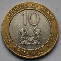10 шиллингов 1997 Кения