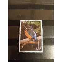 1988 Гайана экс колония Британская Гвиана фауна птицы (4-14)