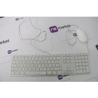 Apple Magic Keyboard A1243, проводная + мышь