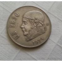 1 песо 1974 г. Мексика