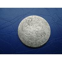 6 грошей (шостак) 1662 (3)         (2844)