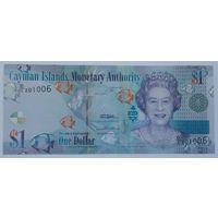Каймановы острова 1 доллар 2010 года UNC
