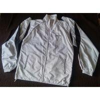 Белая мужская ветровка-жилетка Reebok, 2 в 1!!! б.у. как новая