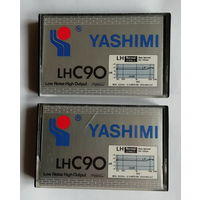 Аудиокассета YASHIMI LH C90, чистая