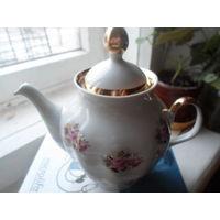 Чайник рижский фарфор