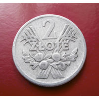 2 злотых 1958 Польша #04