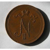 Русс. Финляндия 10 Пенни 1915 (