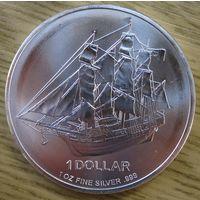 Кука о-ва, доллар, 2009, серебро