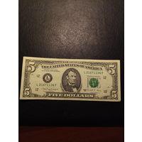 5 долларов США 1988 года  L 21671136 F