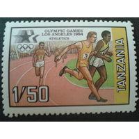Танзания 1984 Олимпиада Лос-Анджелос, бег