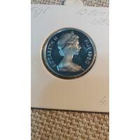 Фиджи 10 центов 1980