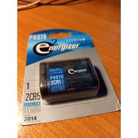 Батарея литиевая для фототехники 2CR5.Не распечатывалась.