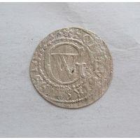 Солид1633 Георг Вильгельм Пруссия,ленник Речи Поспалитой