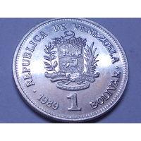Венесуэла 1 боливар 1989 г.