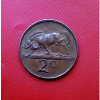 83-02 ЮАР, 2 цент 1981 г.