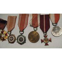 6 шт.   Польские  награды