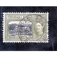 Тринидад и Тобаго. Ми-141. Дом правительства. Порт оф Спейн. Король Георг VI. 1938.