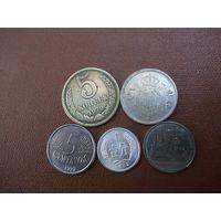 Пять монет/010 с рубля!