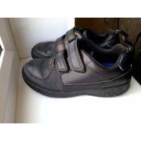 CLARKS кожаные ботинки с фликерами р.29 стелька 19