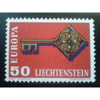 Лихтенштейн 1968 Европа полная