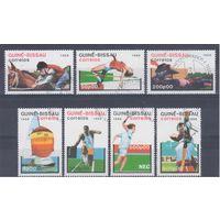[656] Гвинея Биссау 1988. Спорт. Гашеная серия.