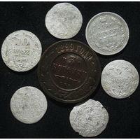 Лот монет с 1 рубля.